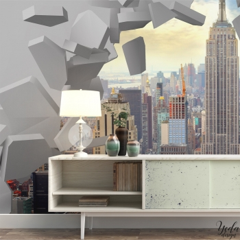 Papier peint fantaisie New York