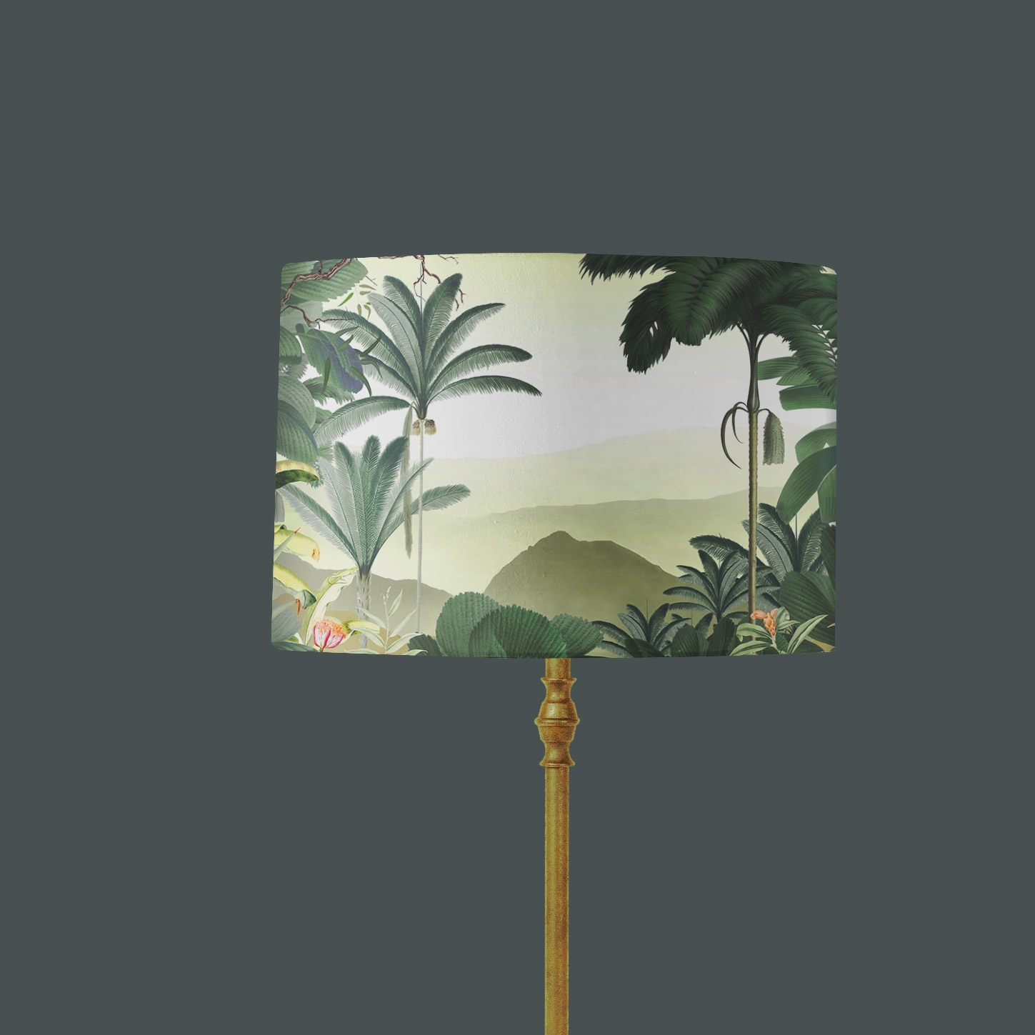 Abat-jour Illustration Jungle tropicale