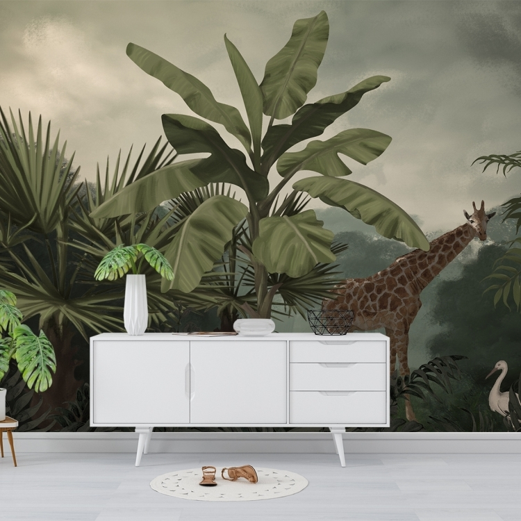 Papier peint Wild Jungle Home