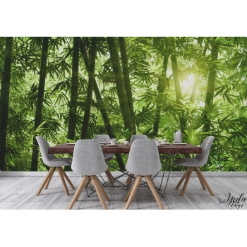yeda design habillez vos murs avec un papier peint paysages natures. Black Bedroom Furniture Sets. Home Design Ideas