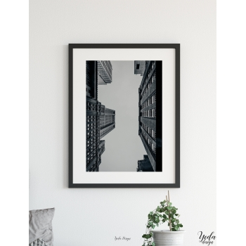 Photos cadre perspective New York, architecture, paysage urbain