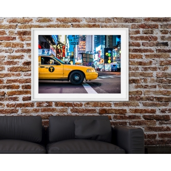 Photo cadre Times Square at Night, architecture, paysage urbain