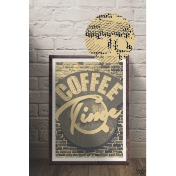 Photo cadre Coffee Time Vintage